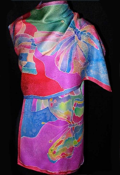 Butterfly Silk Wrap