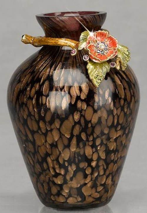 Jay Strongwater Flower Mini Vase