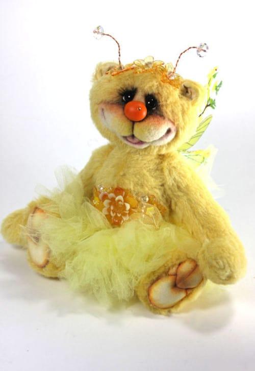 Marigold Fairy Katie Rae Bear