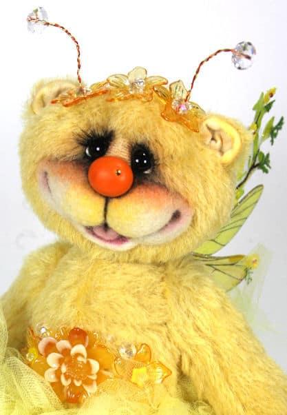 Marigold Fairy Katie Rae Bear Face