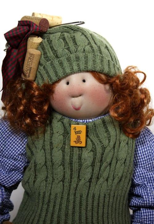 Foodie Francine Little Souls Doll Face