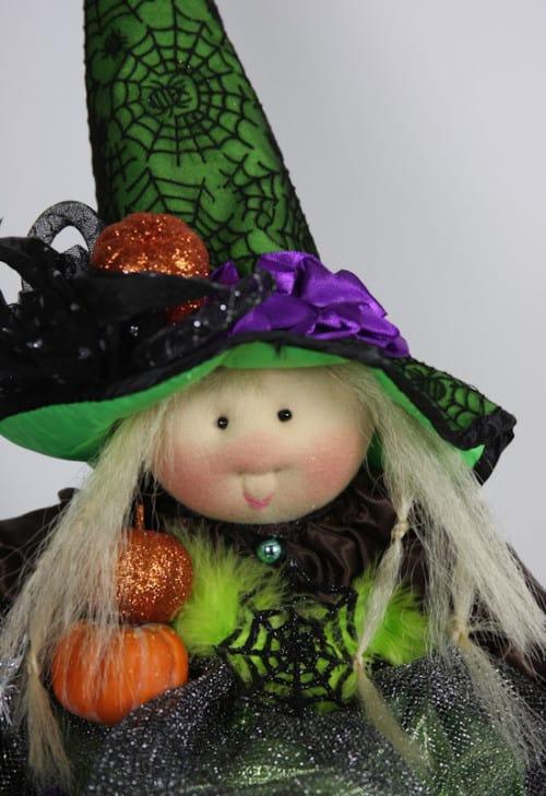 Peevish PamelaTeapot Witch Face