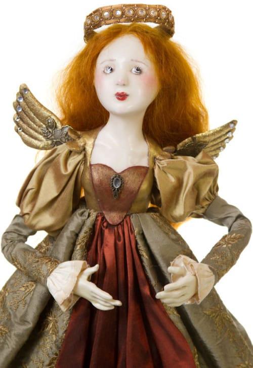 Elizabethan Angel Friedericy Doll Face