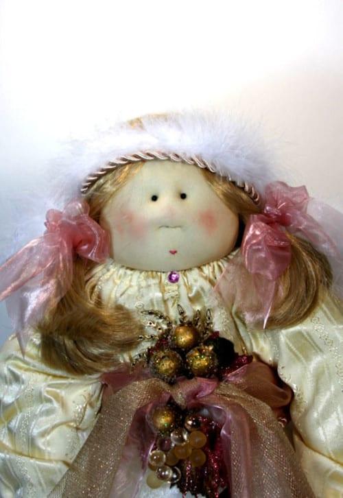 Faith Angel Little Souls Doll Face