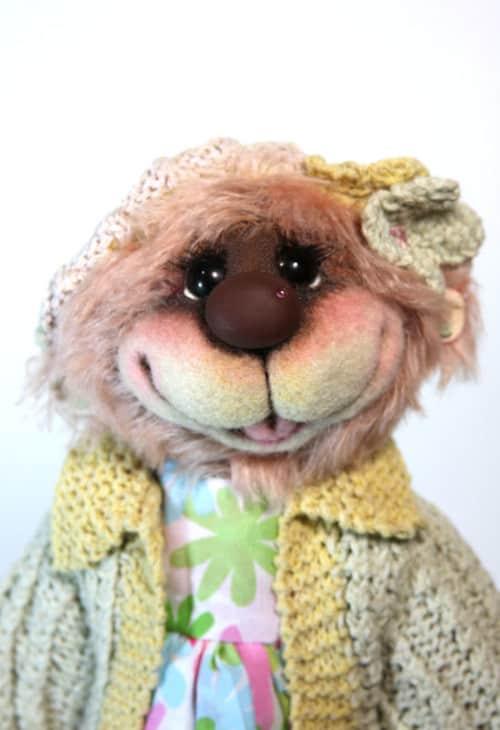 Sally Katie Rae Bear Face