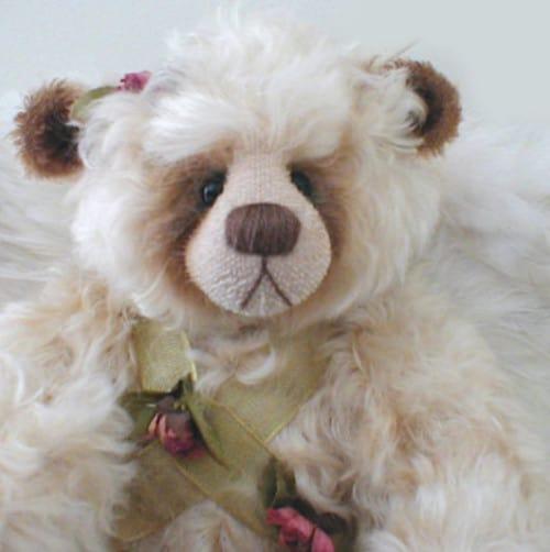 Cherub Bear Face