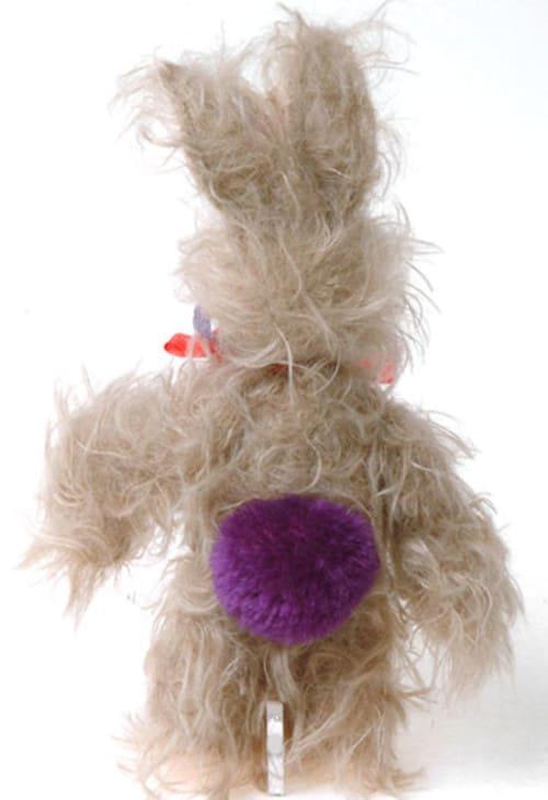 Kravits Rabbit With Purple Tail Rear