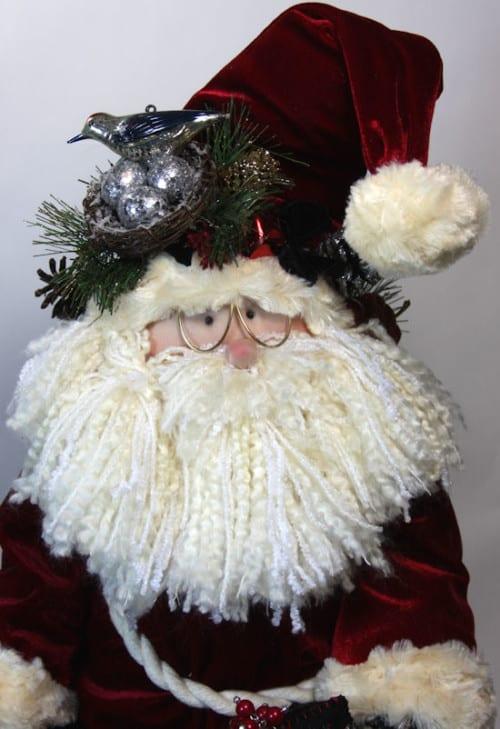 Traditional Santa Face