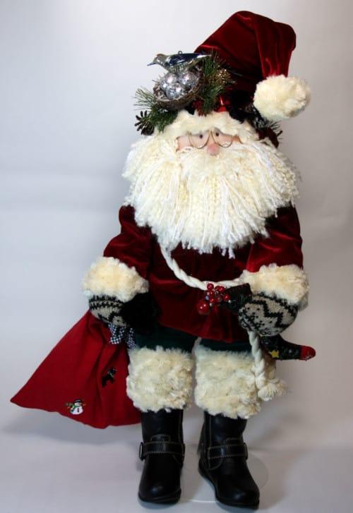 Santa, A Traditional Man Little Souls Doll
