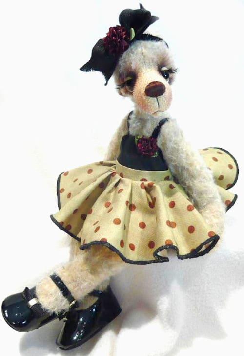 Fifi Bear By Monica Spicer