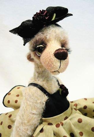Fifi Bear By Monica Spicer Face 2